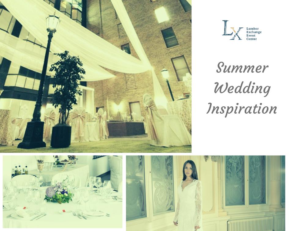 indoor summer wedding