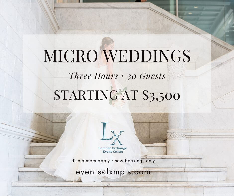 micro wedding pricing